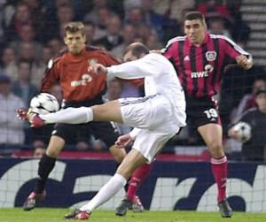 Zinedine Zidane Traumtor