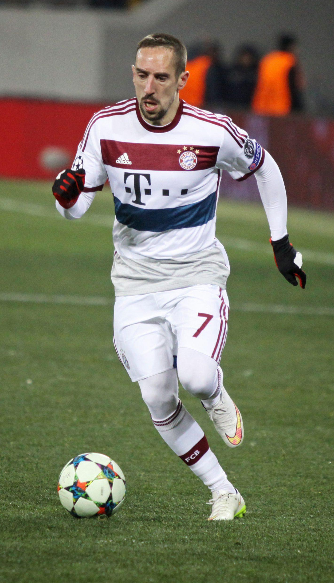 Franck Ribery Größe